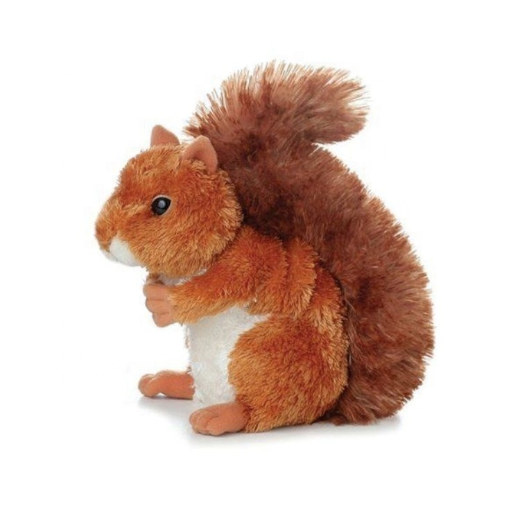 Cute Softest Stuffed Animals Fluffy Squirrel