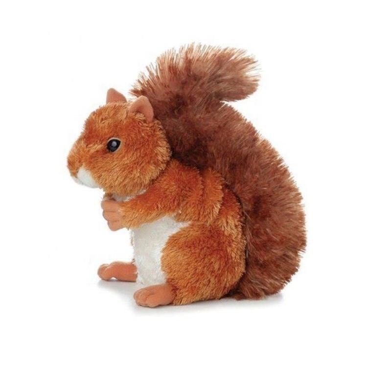 Cute Softest Stuffed Animals Fluffy Squirrel