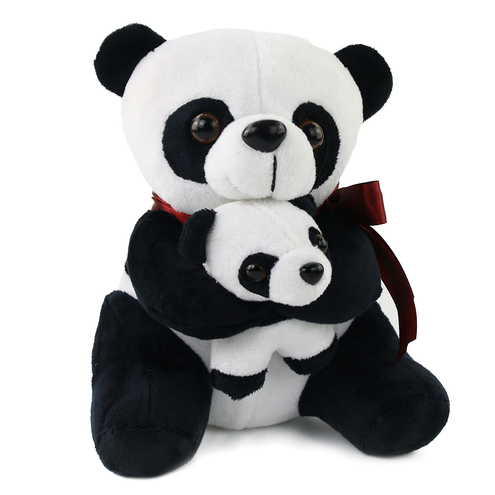 Animal Plush Toys Mother and Son Panda Bear Plush