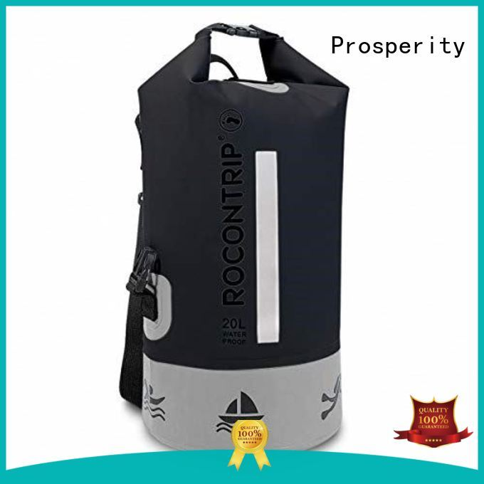 Prosperity light dry pack with innovative transparent window design for kayaking