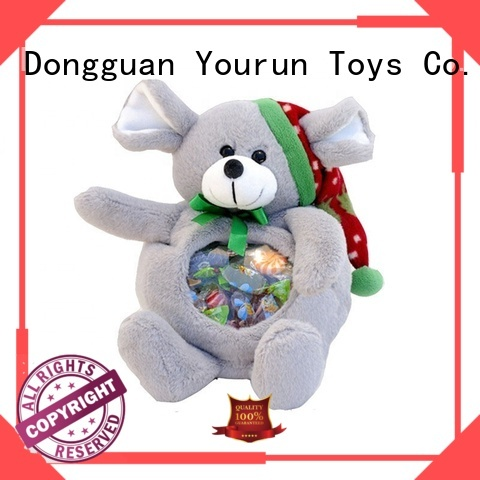 YouRun personalized teddy bear plush toy brand for baby boy