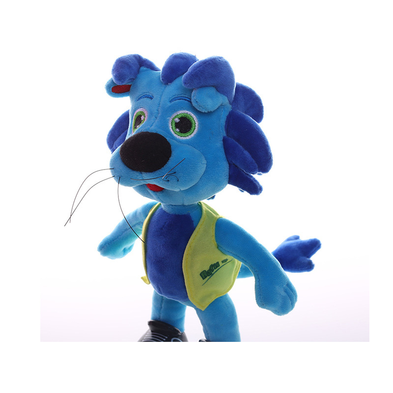 Cartoon Plush Dolls For Company Mascot Children's Gift