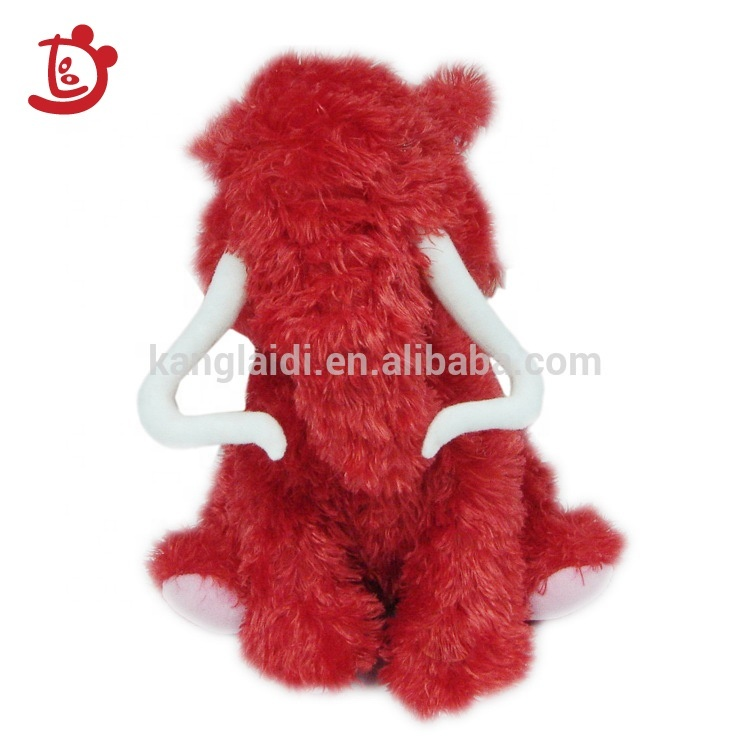 Custom Wild Animal Mmammoth  Elephant Stuffed Animals Plush Toys