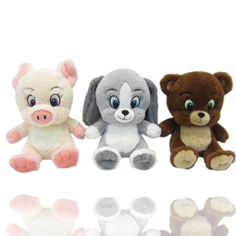 Ustom Soft Stuffed Animals Bulk Bear Plush Toys