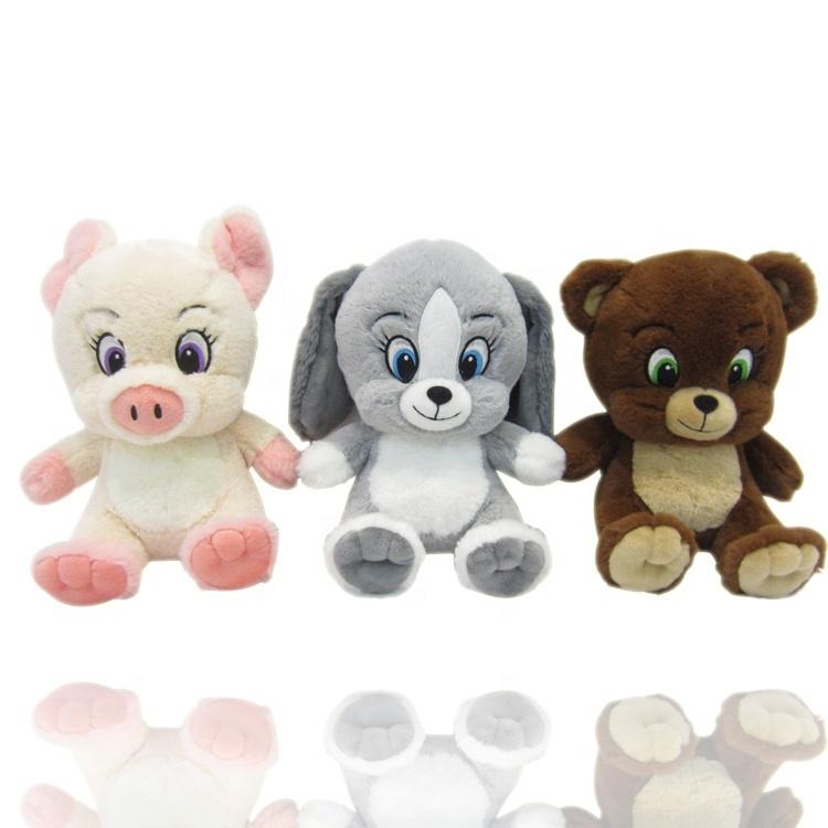 Ustom Soft Stuffed Animals Bulk Bear Plush Toys