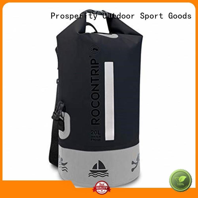 Prosperity light dry bag with adjustable shoulder strap for fishing