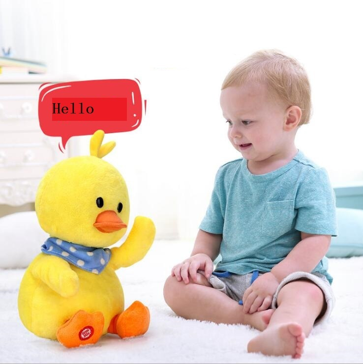 Intelligent Baby Safe Plush Toys for Children Birthday