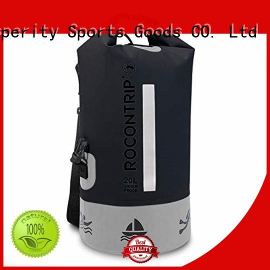 Prosperity dry bag with innovative transparent window design for fishing