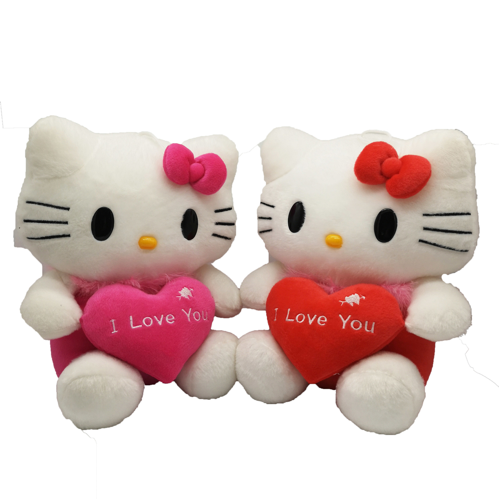 Popular cute soft stuff plush hello kitty for kids toys