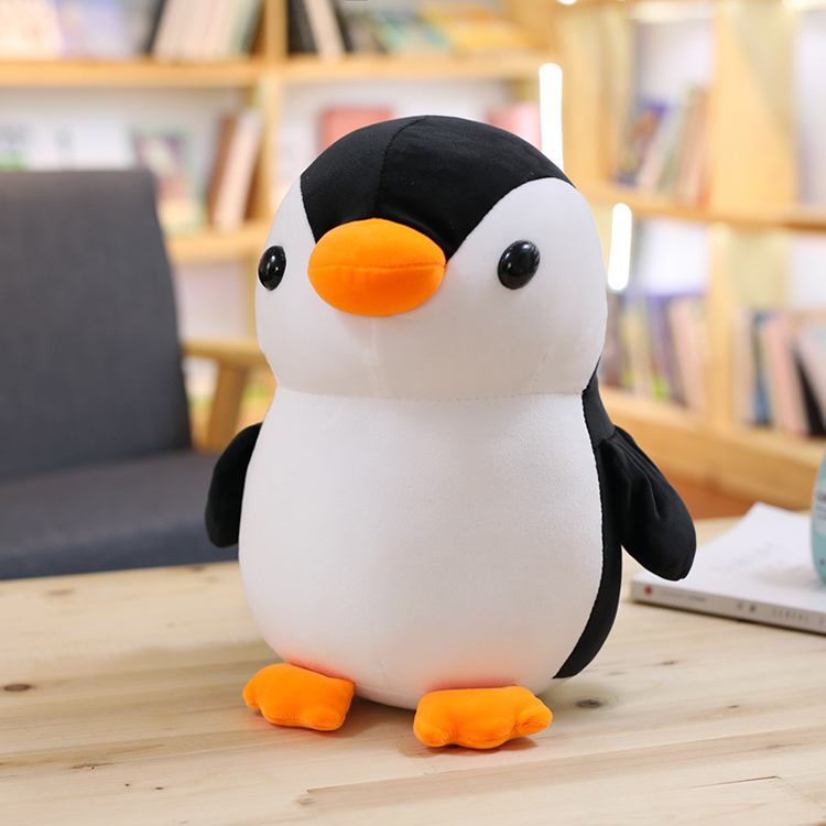 Custom  Kids Toy Lovely Cute Fat Penguin Plush Toy