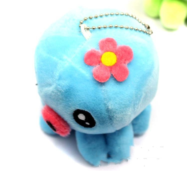 Custom Plush Dolls Cute Octopus For Keychain