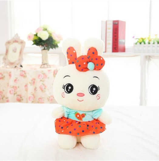 New Baby Soft Toy Cute Carrot Rabbit Plush Toys