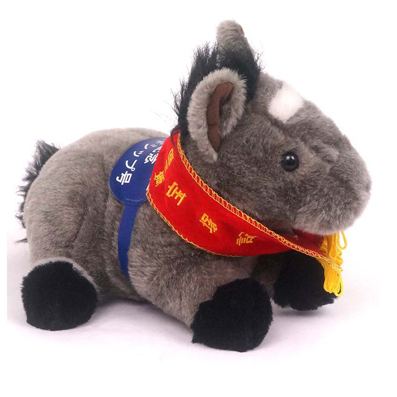 Gifts Grey Cuddly Pony Stuffed Animal Toy