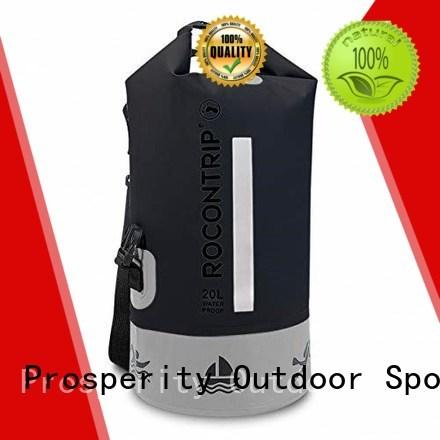 Waterproof dry bag with adjustable shoulder strap open water swim buoy flotation device Prosperity