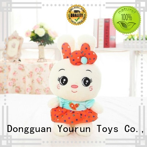 YouRun baby first plush toys factory price for toddlers