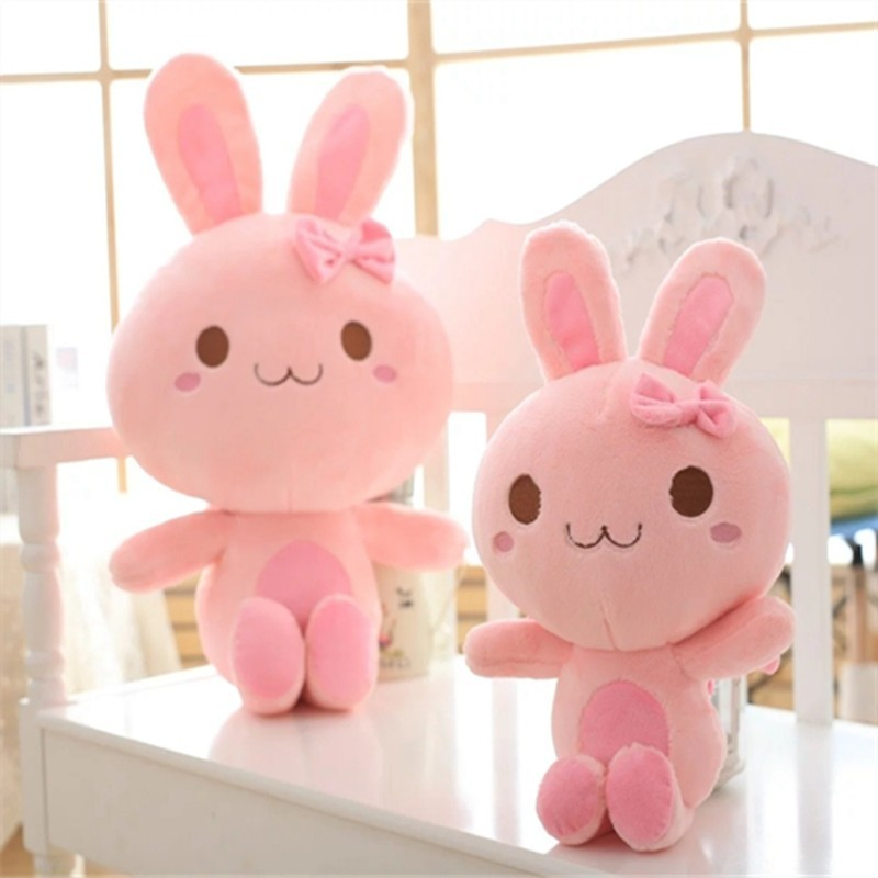 Unique Stuffed Animals Pink Rabbit  Plush Toys